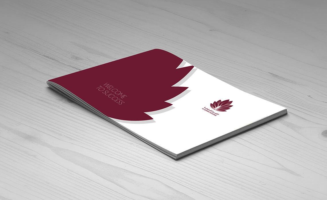 business branding ideas for Alqamra Holding